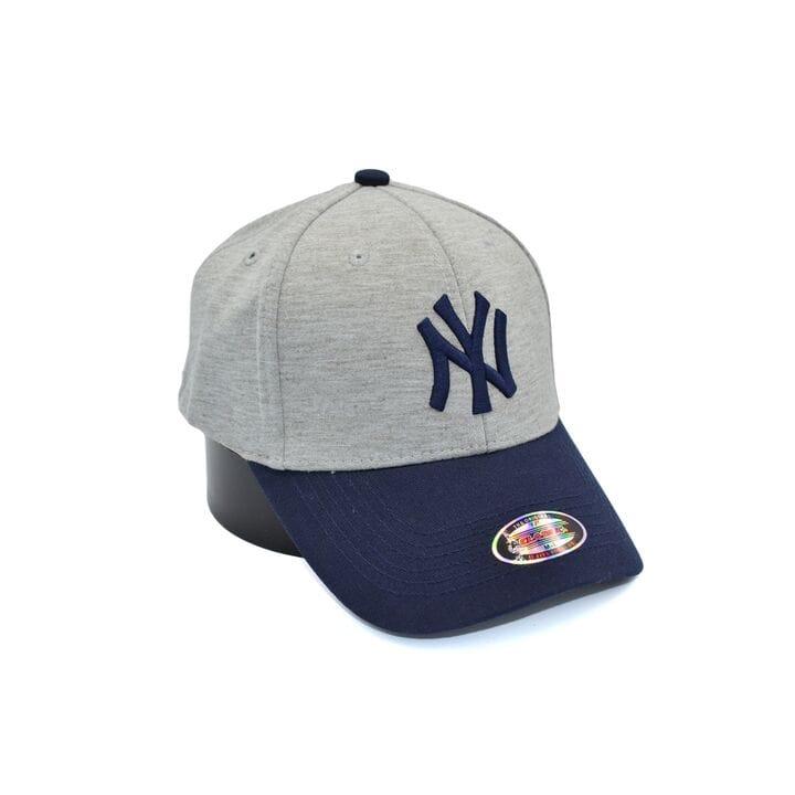 Кепка фулка Classic New York Yankees 55-59 см светло-серая (C 0919-320)