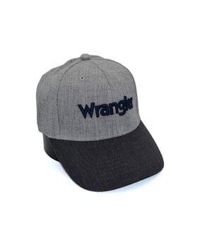 Шерстяная бейсболка фулка Wrangler 55-57 см светло-серая (C 0920-339)