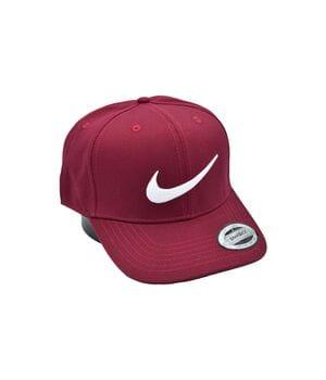 Кепка snapback Nike 56-58 см бордовая (C 0919-37)