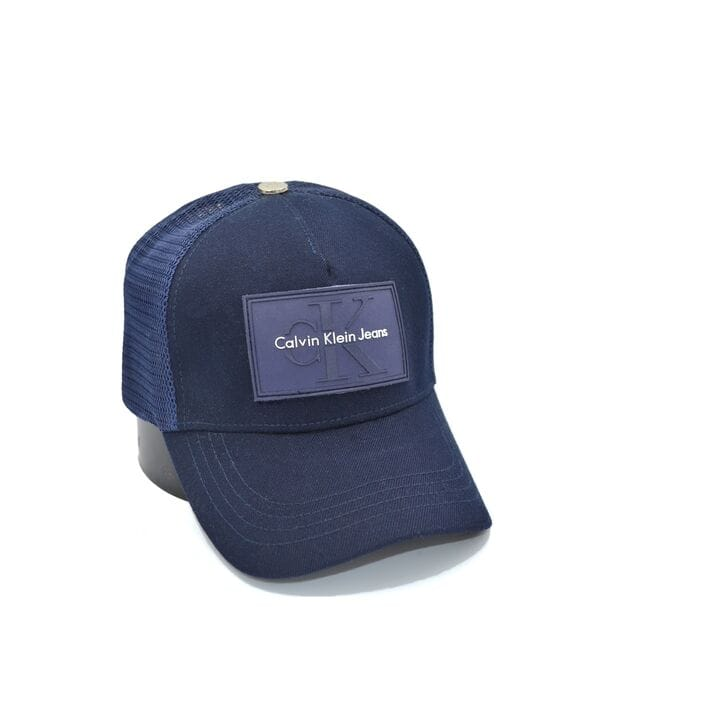 Бейсболка тракер сетка Classic Calvin Klein Jeans темно-синяя (30819-606)
