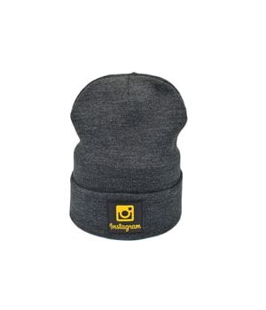 Шапка Hip Hop Shop Instagram 55-59 см темно-серая (H-08118-374)
