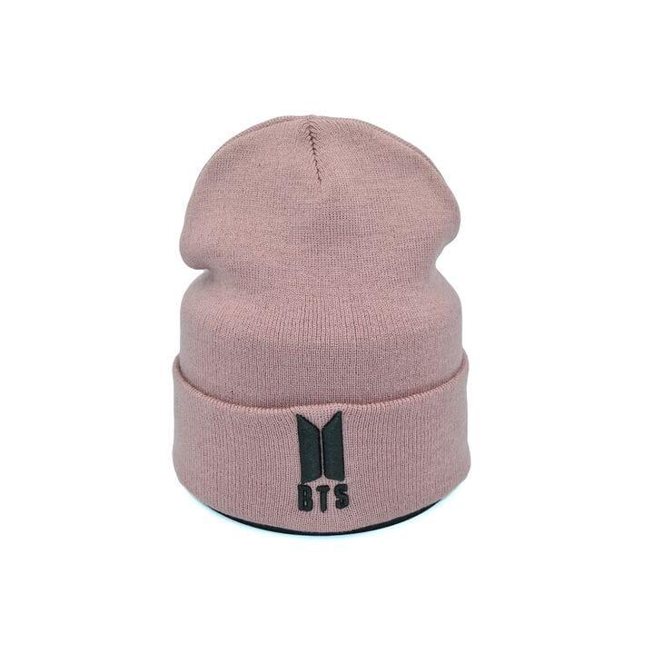 Шапка Hip Hop Shop BTS 55-59 см темно-розовая (H-08118-260)