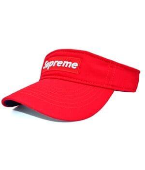 Козырёк Classic Supreme красный (K 0002-214)