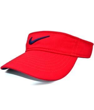 Козырёк Classic Nike красный (K 0004-225)