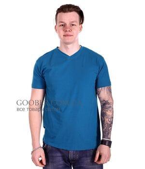Мужская однотонная футболка 44/7 Mastif
