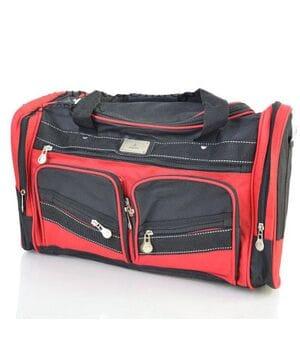 Дорожная сумка Dingda длина 45см Красный (2016/3)