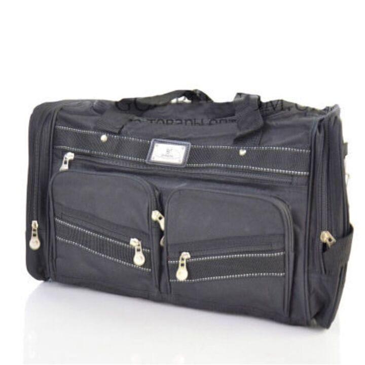 Дорожная сумка Dingda длина 60см Черный (2018/1)