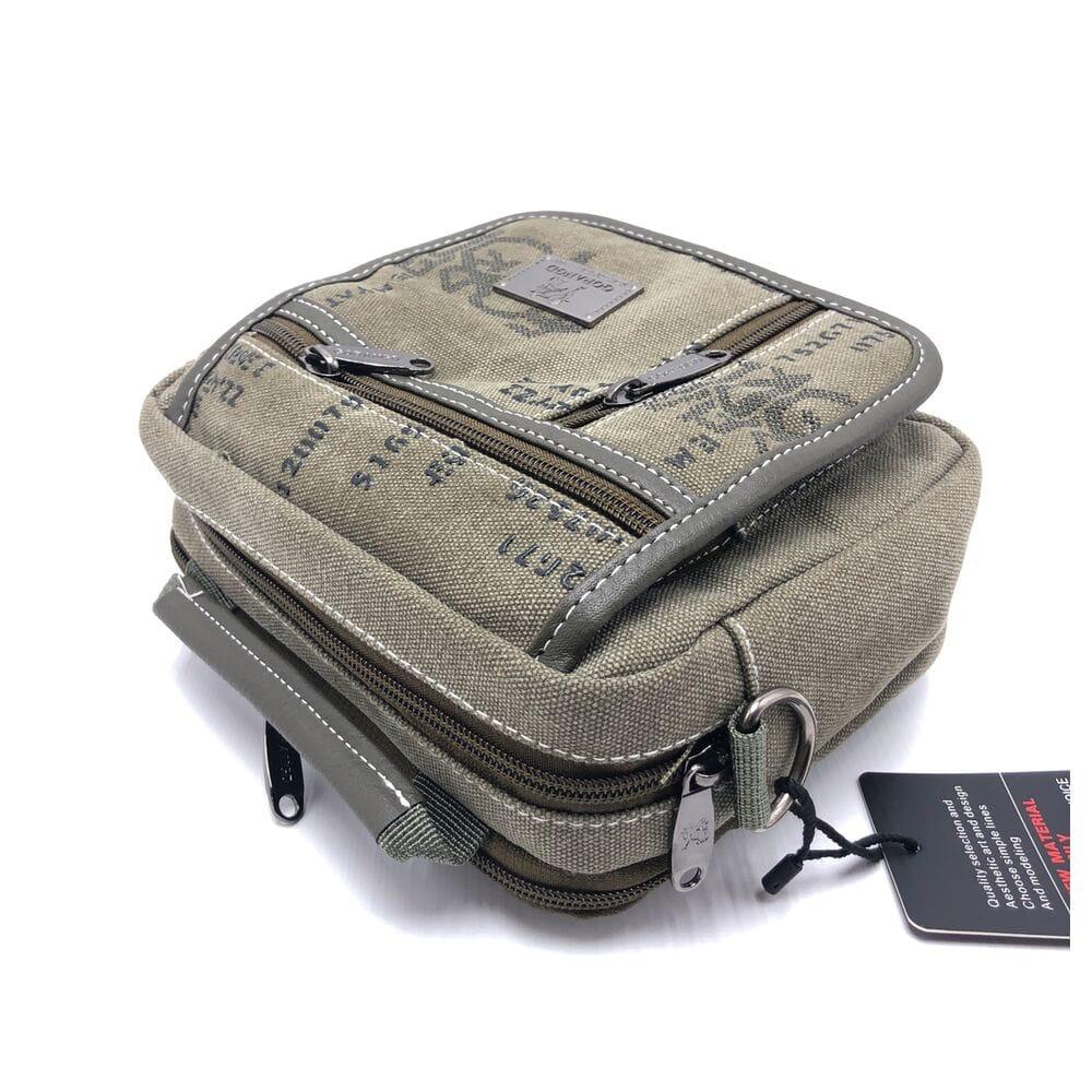 d45c17dd9d33 Купить Мужская сумка через плече Gorangd хаки (9909/1) 9762- в ...