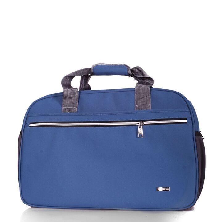 Спортивная мужская сумка синяя (5501/2)