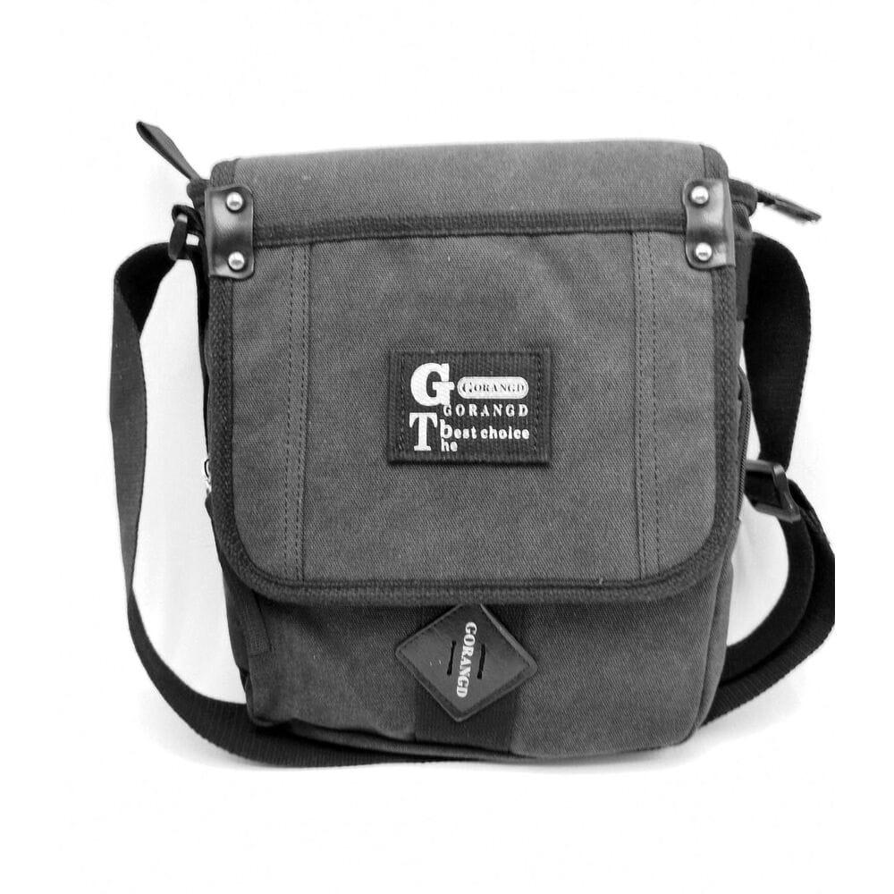 ed48b46ac8bc Купить Мужская сумка через плече Gorangd черный (3381/1) 9484- в ...