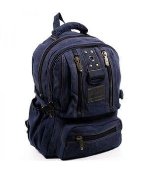 Джинсовый подростковый рюкзак Gold Be 25 x 40 x 14 см Синий (1304/2)