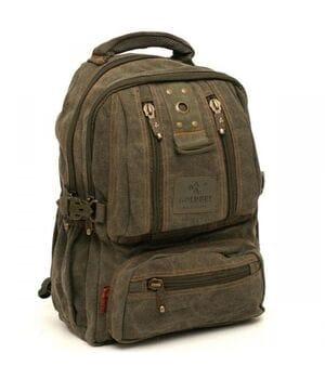 Джинсовый подростковый рюкзак Gold Be 25 x 40 x 14 см Зеленый (1304/3)