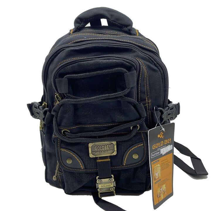 Джинсовый подростковый рюкзак Gold Be 25 x 36 x 17 см Черный (BH034/1)