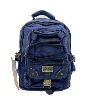 Джинсовый подростковый рюкзак Gold Be 25 x 36 x 17 см Синий (BH034/2)