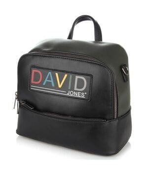 Рюкзак женский David Jones 27 x 22 x 14 см Черный (dj6138-3/1)