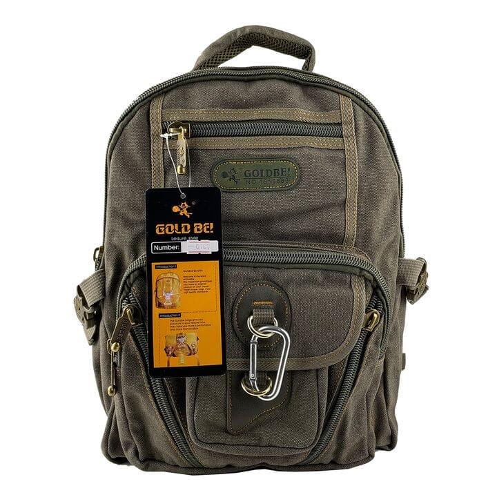 Джинсовый Подростковый рюкзак Gold Be 28 x 38 x 15 см Зеленый (gb0107/1)