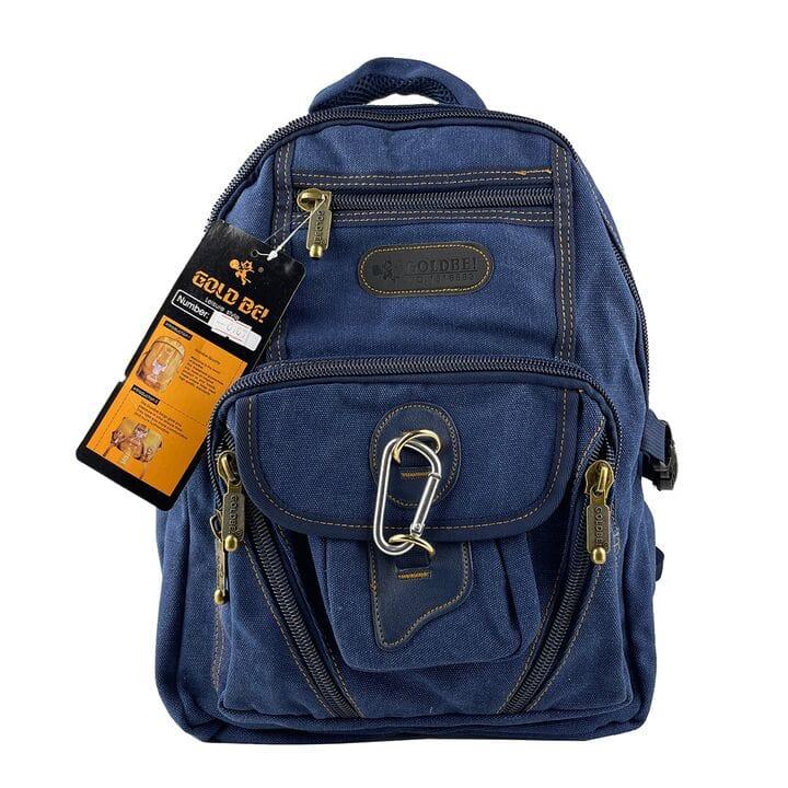 Джинсовый рюкзак Gold Be 28 x 38 x 15 см Синий (gb0107/3)