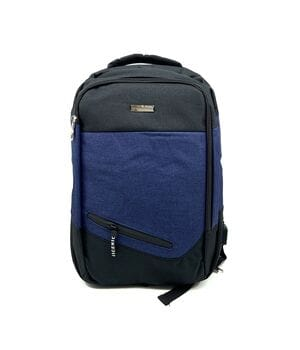 Городской рюкзак JXTian 43 x 30 x 12 см Черный с синим (fx616/2)
