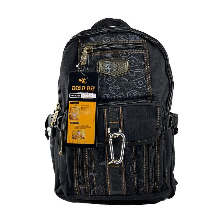 Джинсовый рюкзак Gold Be 29 x 40 x 15 см Черный (gb757/1)