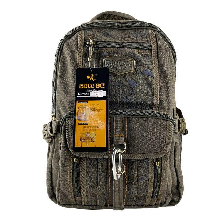 Джинсовый школьный рюкзак Gold Be 29 x 40 x 15 см Зеленый (gb757/2)
