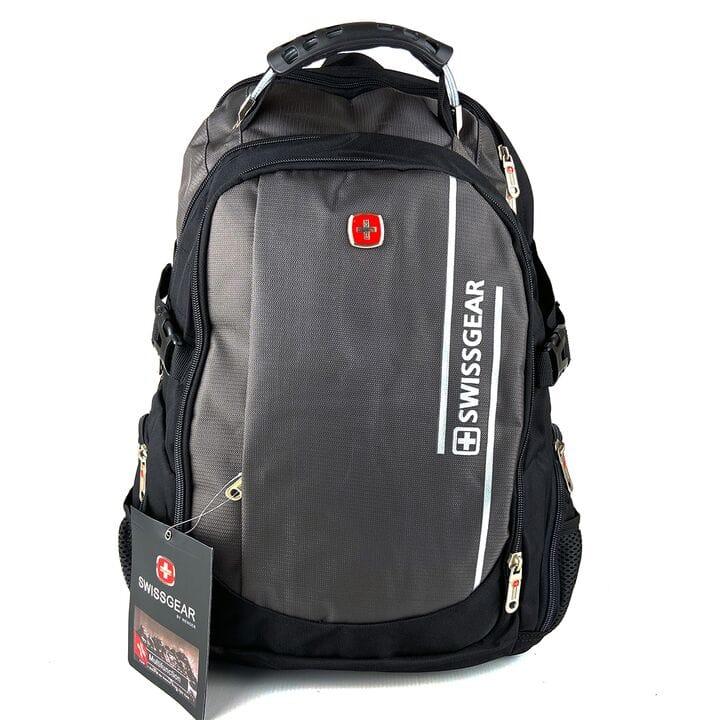 Городской рюкзак Swissgear 46 x 31 x 23 см Черный c серым (sw1792)