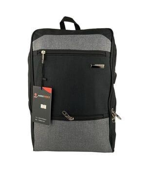 Городской рюкзак JXTian 44 x 31 x 15 см Черный с серым (fx613/1)