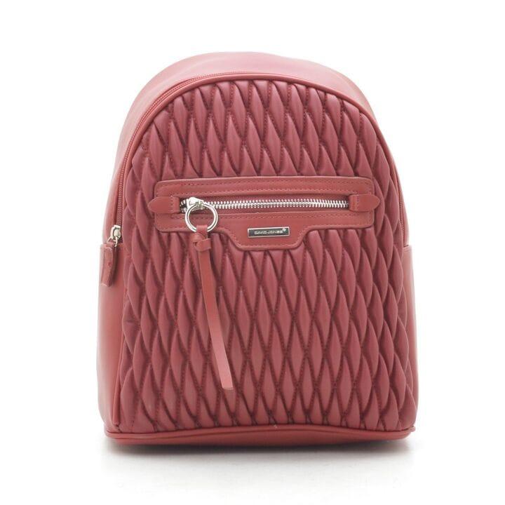 Рюкзак женский David Jones 24 x 29 x 12 см Красный (dj6152-4t/2)
