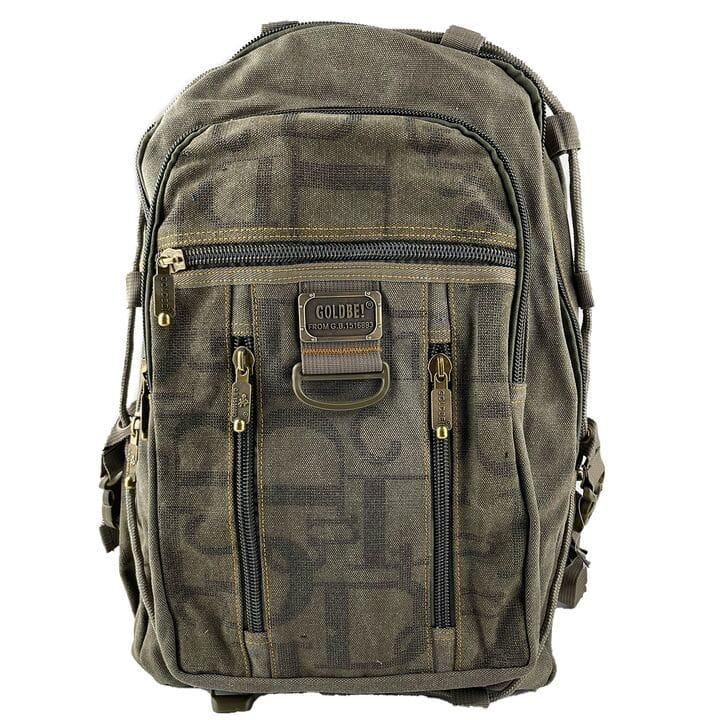 Джинсовый рюкзак Gold Be 32 x 50 x 15 см Зеленый (gb257/3)