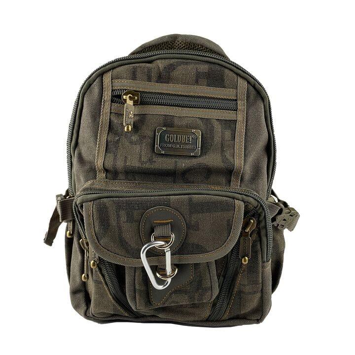 Джинсовый школьный рюкзак Gold Be 25 x 35 x 15 см Зеленый (gbbh002/2)