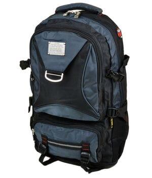 Рюкзак Туристический нейлон Royal Mountain 32 x 50(+10) x 20 см Синий (7916/1)