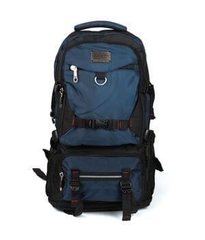 Рюкзак Туристический нейлон Royal Mountain 32 x 50(+10) x 20 см Синий (7913/1)