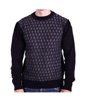 Мужской шерстяной свитер Gerekli Турция k0618/1 Черный