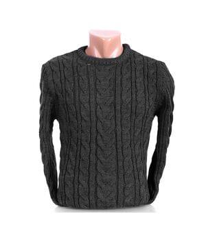 Мужской свитер Blur Турция k0219/3 Темно-серый