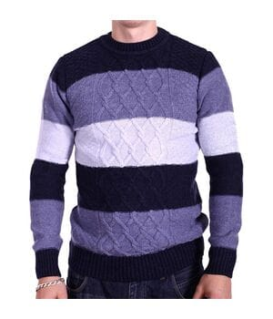 Шерстяной мужской свитер Gerekli Турция k2253/3 Комбинированный