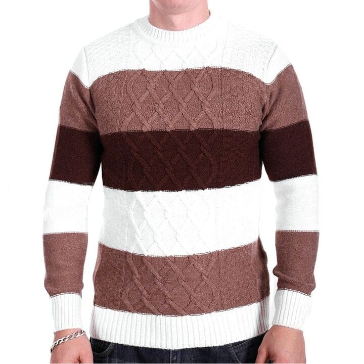 Шерстяной мужской свитер Gerekli Турция k2253/4 Комбинированный
