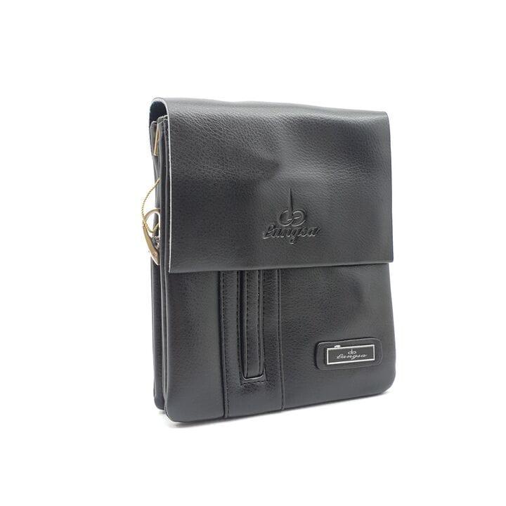 Маленькая мужская сумка Langsa из качественной кожи PU(6725-1)