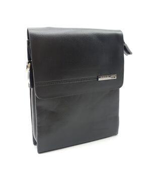 Маленькая мужская сумка POLO из качественной кожи PU(b356-1)
