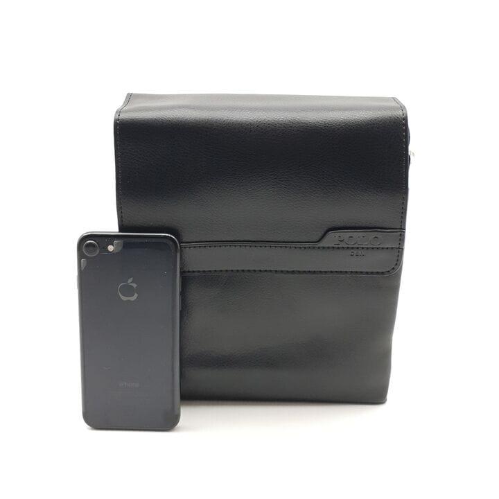 Мужская сумка POLO из качественной кожи PU(b363-2)