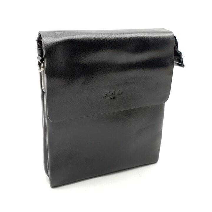 Мужская сумка POLO из качественной кожи PU(b378-2)