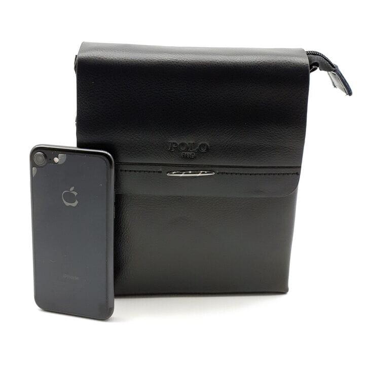 Мужская сумка POLO из качественной кожи PU(b351-2)