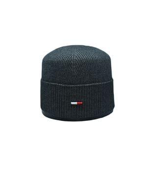 Шапка Caps Zone Tommy Hilfiger 55-59 см Темно-серый меланж (CZ 10118-4)