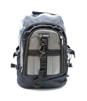 Мужской рюкзак Gorangd черный с серым (GM002/1)