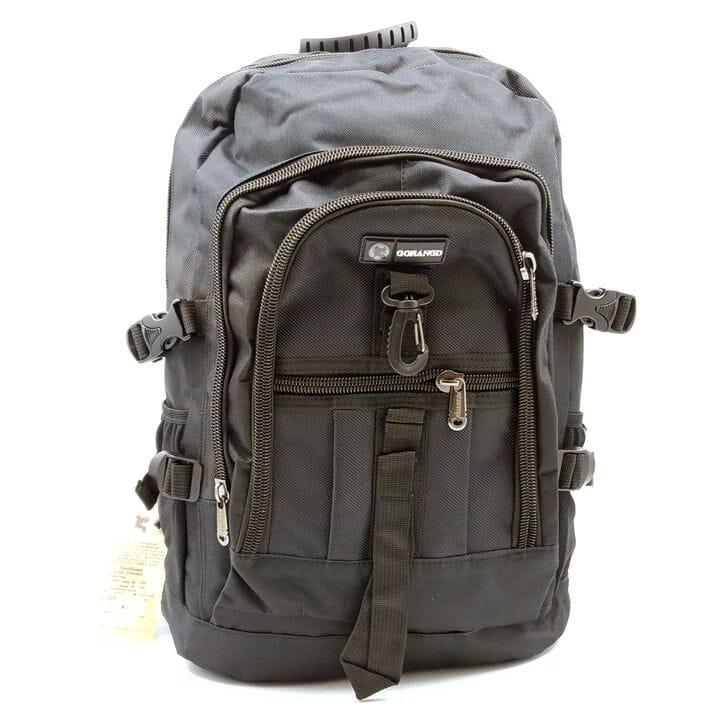 Мужской рюкзак Gorangd черный (GM002/3)