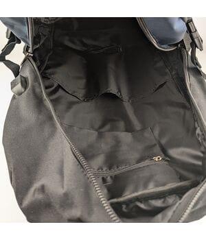Мужской рюкзак Gorangd черный с серым (D619/1)
