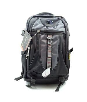 Мужской рюкзак Gorangd черный с серым (C1689/1)