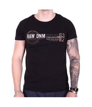 Футболка Rixon RAW DNM f1906/1 Черная