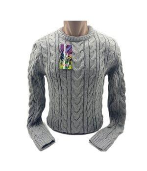 Мужской свитер Blur Турция k0219/5 Серый