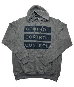 Худи мужская Ice Boy CONTROL k646/2 Темно-серая