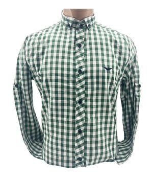 Мужская рубашка Ronex Турция cm10202/6 Зелёная
