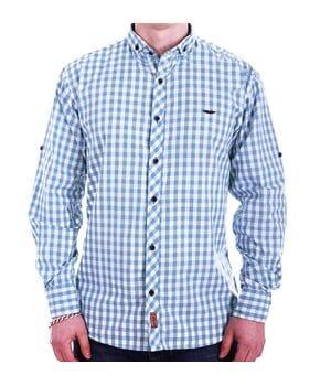 Мужская рубашка Ronex Турция cm10202/7 Голубая